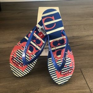 (BRAND NEW) COACH flip flops sandals
